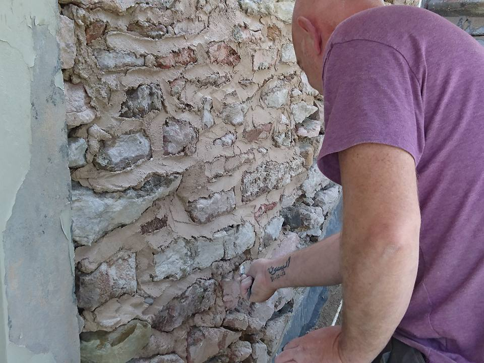 Mark Procter Lime Pointing for Procter Building Services